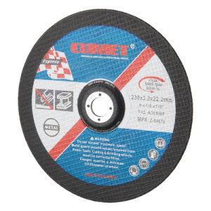 Cutting Disc for Inox (230X1.9X22.2) Abrasive with MPa Certificates pictures & photos