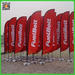 Custom Outdoor Advertising Teardrop Flag pictures & photos