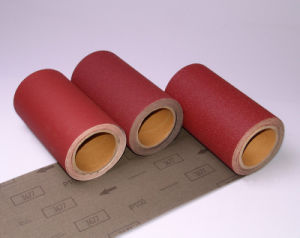 Wood Grinding Aluminum Oxide Abrasive Cloth 3677 pictures & photos