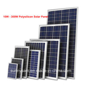 40W High Efficiency Solar Cell Panel From China Manufacturer pictures & photos