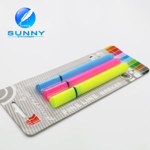High Quality Multi Colored Highlighter Marker Pen, Blister Card Packaging Highlighter Pen Set pictures & photos