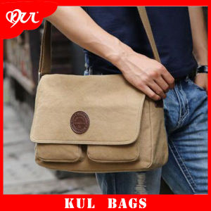 (KL019) Wholesale Durable Travel Sport Shoulder Bag Men Canvas Shoulder Bags