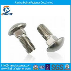 DIN603 Ss304 Ss316 Mushroom Head Square Neck Carriage Bolt pictures & photos