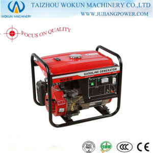 2kw Lantop Type Manuel Start Copper Gasoline Generator (WK4800)