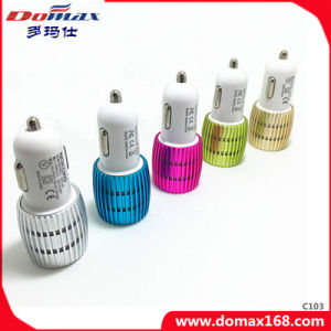 Mobile Phone 2 Dual USB Tracker Metal Travel Car Charger pictures & photos