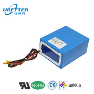 24V12ah Rechargeable 18650 Lithium Ion Battery Pack pictures & photos