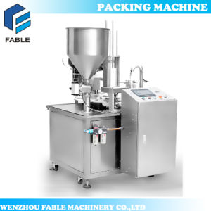 Yogurt Rotary Cup Filling and Sealing Packing Machine (VR-2) pictures & photos