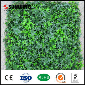 Garden Decoration PVC Coated Green Artificial Plant Fence