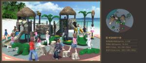 Kaiqi Medium Sized Forest Series Children′s Playground Set (KQ50011B) pictures & photos