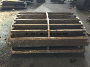 High Manganese Steel Casting Grating for Hammer Crusher pictures & photos