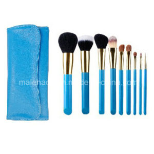 9PCS Portable Make up Cosmetic Brush Set pictures & photos