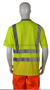 2016 New Style Workplace Reflective Safety T-Shirts pictures & photos