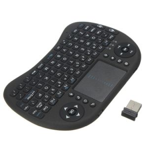 in Stock Mini I8 Wireless Keyboard with Touchpad 2.4G Keyboard pictures & photos