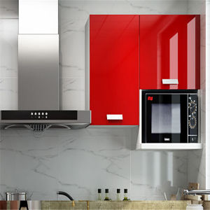 2015 Modern Kitchen Designs/Kitchen Furniture/ Red Kitchen Cabinets Design pictures & photos
