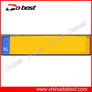 Aluminum Blank License Plate with Reflective Film pictures & photos