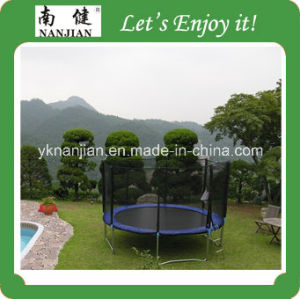 Big Round Outdoor Trampoline with Safety Net From Nanjian (NJ-BIG13) pictures & photos