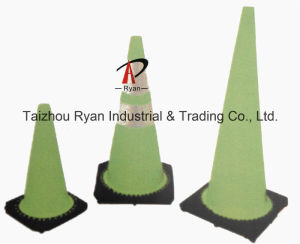 Black Base Fluorescent Cones