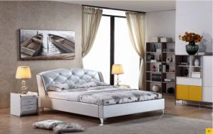 2016 Latest Leater Bed (J-521#-1) pictures & photos