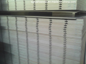 China MDF Slot Board for Slat Wall pictures & photos