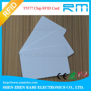 Low Cost 0.76mm PVC 125kHz RFID Blank Card with 4c Printing