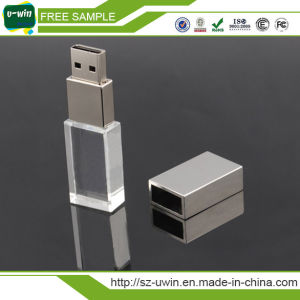 Free Sample Crystal Gift 8GB USB Flash Drive/USB Stick pictures & photos