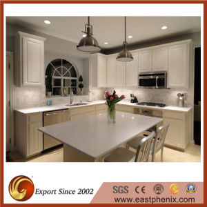 White Quartz Stone Kitchen/Bathroom Countertop pictures & photos