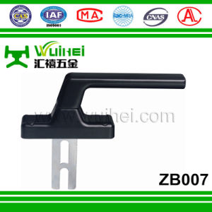 Zinc Base Aluminum Layer Single Tongue Multi Point Lock Handle for Window (ZB007) pictures & photos