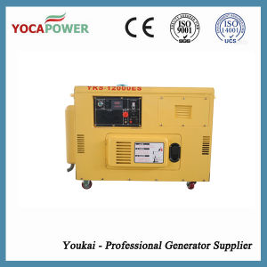 9kw Electric Silent Generator with New Type AVR pictures & photos