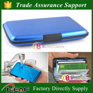 Promtional RFID Blocking Credit Card Holder Aluma Wallet pictures & photos
