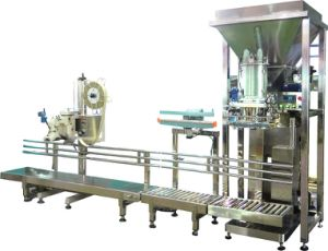 PLC Assam Tea Powder Packing Machine with Conveyor Belt pictures & photos
