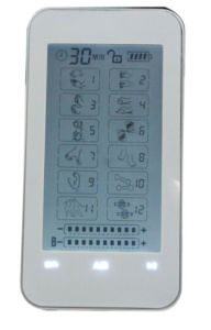 2016latest Tens Massager Touch Screen with 24modes