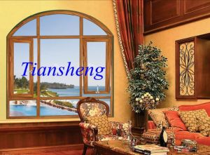 Modern Aluminum Casement Window for Home Designs of Plants in China pictures & photos