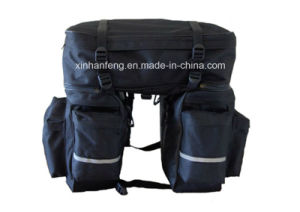 Outdoor Folding Bicycle 3 in 1 Rear Pannier Bags (HBG-052) pictures & photos