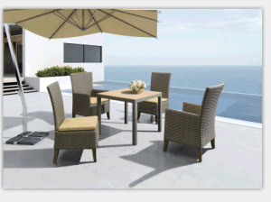 Rattan/Wicker Dining Table Outdoor Table Sets pictures & photos