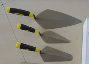 "7"" Steel Trowel with Plastic Handle (BR2341) pictures & photos"