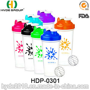 Hot Sale 600ml BPA Free Plastic Protein Shaker Bottle (HDP-0301) pictures & photos