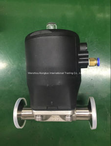 Fdi Plastic Pneumatic Sanitary Actuator CF3m Diaphragm Valve pictures & photos