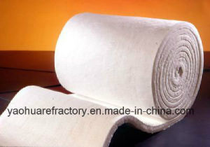 Thermal Insulation Refractory Soluble Shuttle Kiln Spun Ceramic Fibre Blanket pictures & photos