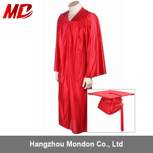 Red Preschool Graduation Cap and Gown pictures & photos