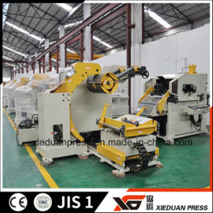 Stamping Production Line, Straight Side Press, 3 in 1 Servo Straightener Feeder pictures & photos