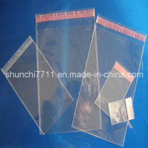 Transparent OPP BOPP Bag with Flap pictures & photos