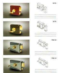 Brass Cylinder Rim Door Lock Types pictures & photos