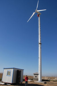 Wind Power System with on-Grid System (30kw)
