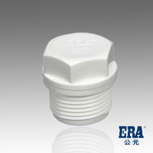 PVC Pressure Pipe Fitting Thread Plug pictures & photos
