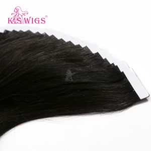 Natural Human Hair Tape Hair Extension pictures & photos
