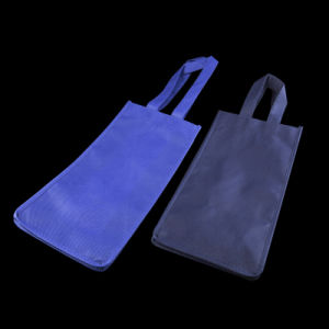 Polypropylene Spunbond Non Woven Fabric Wine Bag pictures & photos