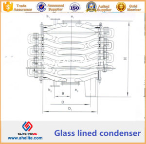 Glass Lined Condensator - Glass Lined Chemical Condenser pictures & photos