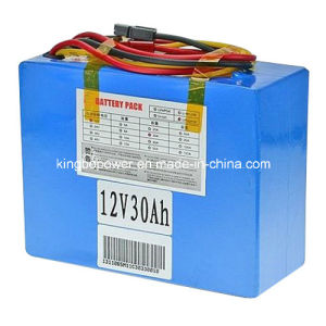 12V 30ah 26650 LiFePO4 Battery for Solar Panel Power