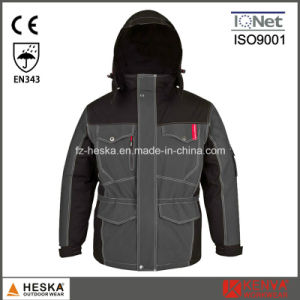 Workwear Mens Waterproof Winter Custom Parka Jacket pictures & photos