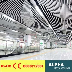 Aluminum Suspended False O Shaped Pipe Baffle Ceiling pictures & photos